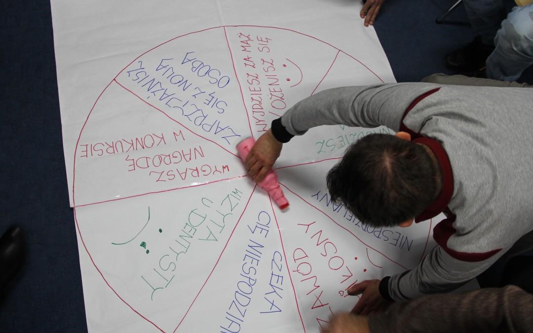 Integracyjne spotkanie andrzejkowe w Centrum DZWONI w Jarosławiu