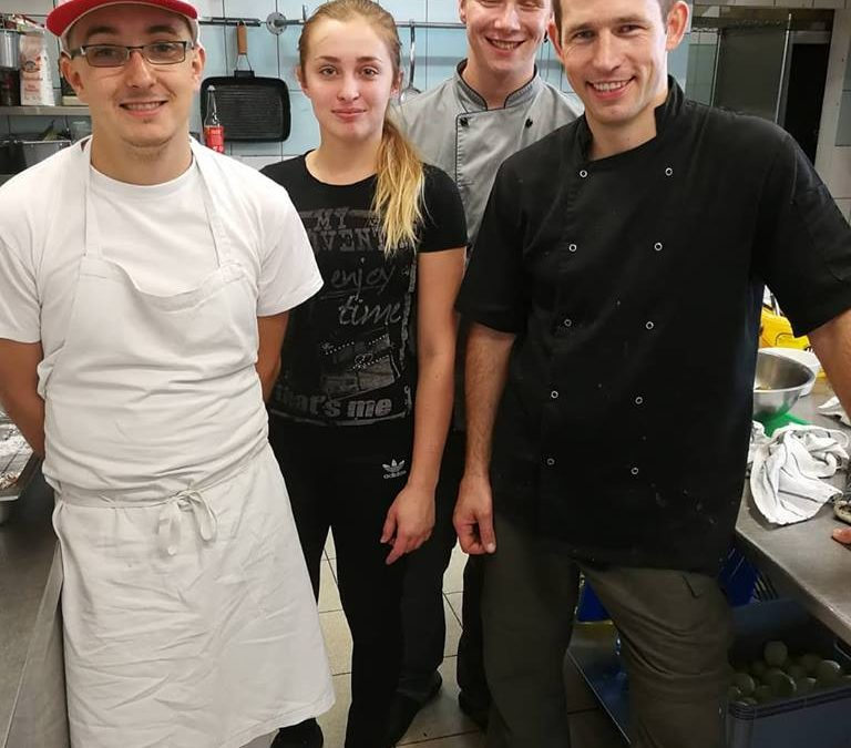 Charytatywne warsztaty kulinarne w Restauracji MODRA
