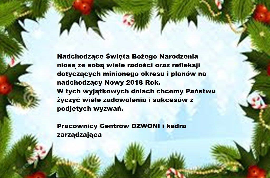 Wesołych Świąt Bożego Narodzenia i szczęśliwego Nowego Roku 2019!