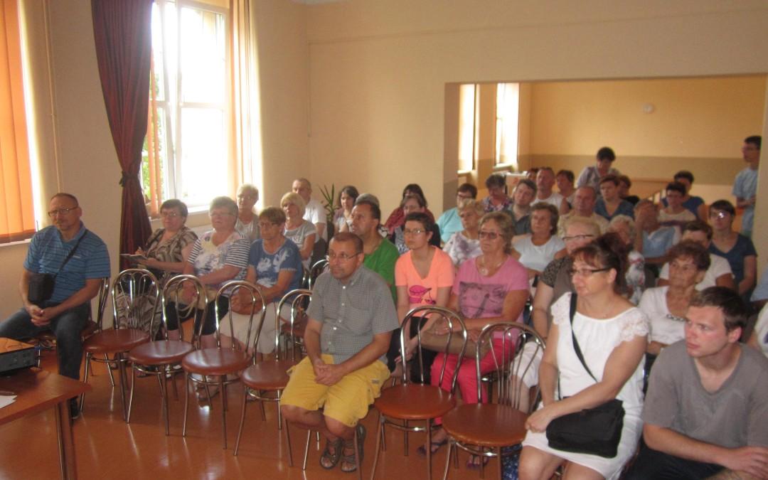 Spotkanie z rodzicami i uczestnikami Warsztatów Terapii Zajęciowej w Piekarach Śląskich