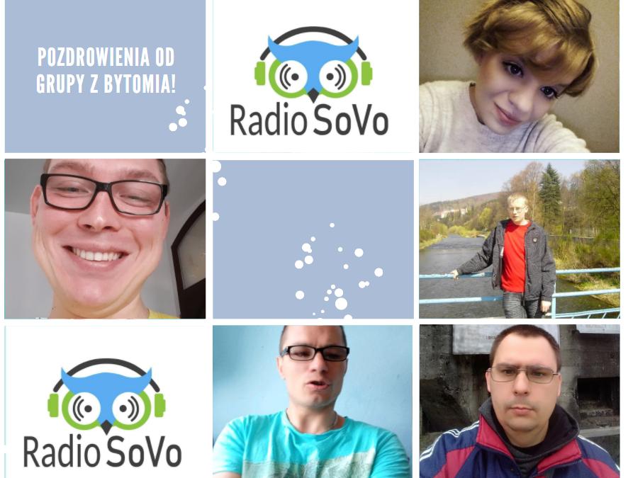 Uczestnicy Centrum Dzwoni w Bytomiu słuchaczami Radia SoVo!