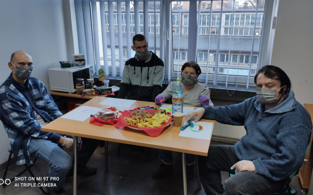 Wsparcie grupowe dla beneficjentów Centrum DZWONI w Zgierzu